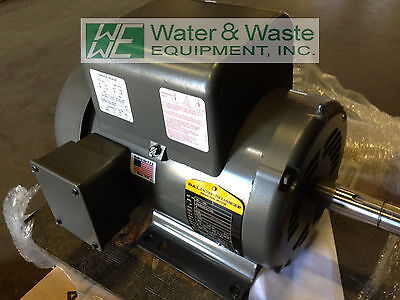 New Surplus 5 Hp, 1 Phase Baldor Electric Motor