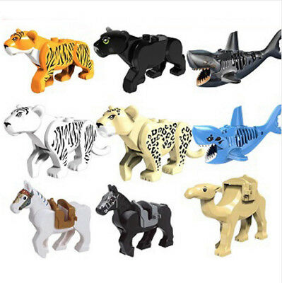 HOT SALE - LEGO Tiger Cat , Black Panther, Leopard, White Tiger toys