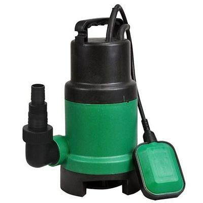 New 400W Submersible Dirty Water Pump Clean Flood Well Pool Pond Garden Electric