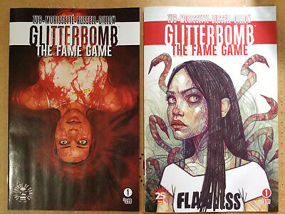 Glitterbomb The Fame Game #1A/B NM 2 Cover Set Image Comics