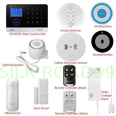 NEW DIGOO 433MHz Wireless Accessor Smart Burglar Halloween Home Security Alarm