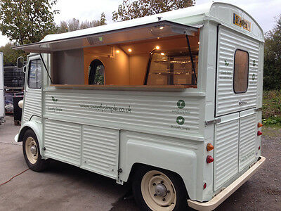 Citroen HY Van with catering fit out