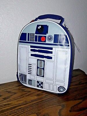 Thermos Star Wars R2D2 Novelty Container Lunch Bag Box Luggage Travel School