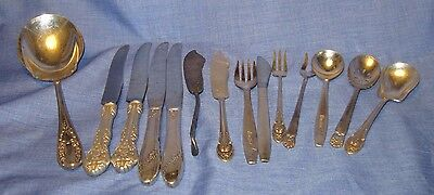 Vintage Mixed lot of silverplated flatware