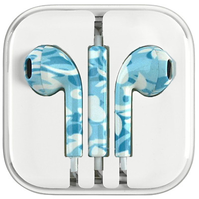 New Colored Headset w/ Mic Earbuds Stereo Earphone Headphones for Apple iPhone 7