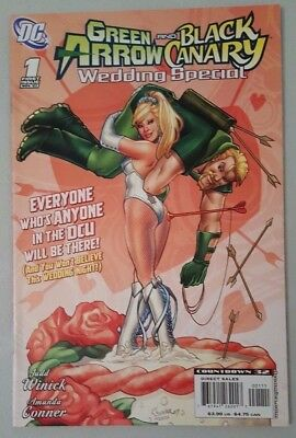 Green Arrow and Black Canary Wedding Special #1 2007 DC Comics VF Flat Shipping