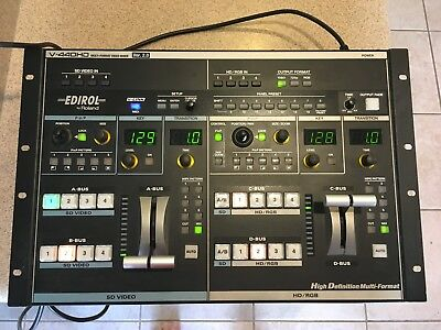 Video Mixer - Edirol by Roland V440HD Version 2.0