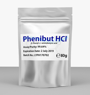 Phenibut High Quality Powder 80g - Reduce Anxiety - Mood Boost