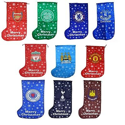 Official Football Merchandise Christmas Jumbo Present Stocking Decoration Gift