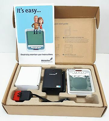 BRITISH GAS Current Cost Energy Electricity Electric Monitor Boxed