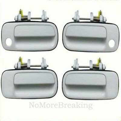 B378 For 92-96 Toyota Camry Rear Left Driver Side Outside Door Handle White 040