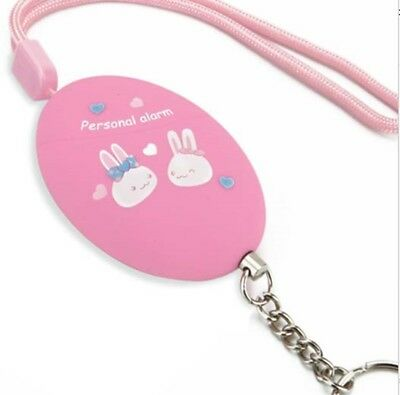 Anti-rape Device Alarm Self Loud Alert Attack Personal Safety Key chain Protect