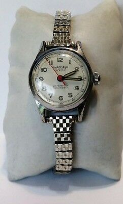 Vintage Ladies SHEFFIELD 17 Jewel Swiss Made Mechanical Watch