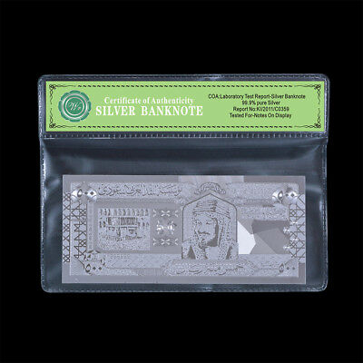 WR Silver Saudi Arabia Banknote 500 Riyals Paper Money Collection Gifts For Him