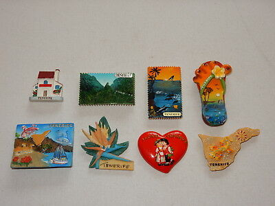 One Selected 3D Souvenir Fridge Magnet from Tenerife Spain
