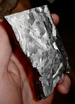 Beautiful 590 Gm. Etched Campo Del Cielo Meteorite Triple Cut