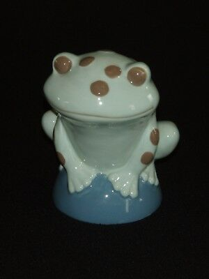 Spotted Frog Piggy Bank