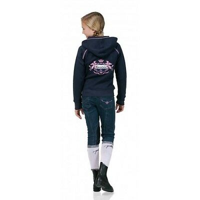 NEW Ovation Child's Pink Diamonds Denim Breeches - Sizes 8, 16