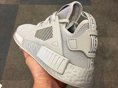 new product bce9c 65c46 ADIDAS NMD ALL triple grey XR1 ultra boost white red R1 primeknit R2 black