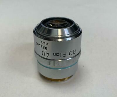Nikon BD Plan 40X ELWD Microscope Objective Lens 210mm ~ Extra Long Working Dist