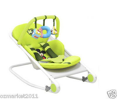 Fashion Green Security Multi-Purpose Baby Swing Chair/Baby Rocking Chair WK