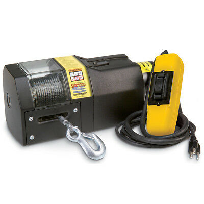 120 Volt Winch >> Superwinch 01002 Sac1000 120vac Winch Rated Line Pull 1000 Lb 454 Kg