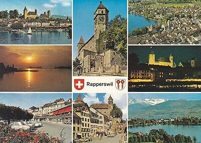 Rapperswil Switzerland Postcard used VGC