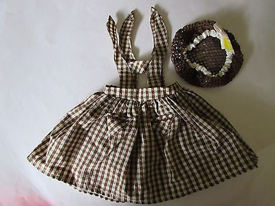 American Girl & Pleasant Company Addy Birthday Pinafore & Snood - Retired