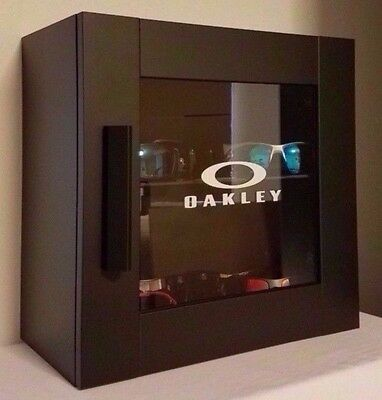 LED Oakley Sunglass Display Case Stand Sunglasses & Watches Counter Top Shades