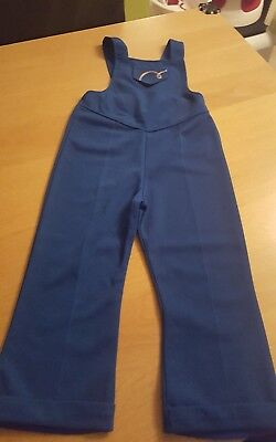 little bird by jools oliver brand new girls blue dungarees 3-4 years