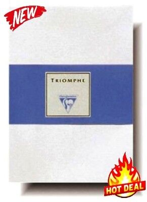 Clairefontaine Triomphe Lined White Writing Paper with Envelopes