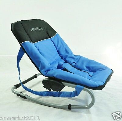 Fashion Blue Security Multi-Function Baby Swing Chair/Rocking Chair QL