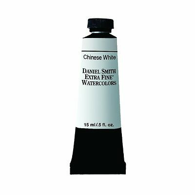 Daniel Smith Extra Fine Watercolor 15ml Paint Tube Chinese White (NEW)