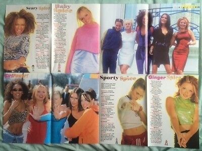 """SPICE GIRLS Original Vintage """"Girl Power Mel B and the SGs Issue 7"""" Postermag"""