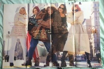 """SPICE GIRLS Original Vintage Top of the Pops Magazine """" Read ..."""" Poster Mag"""