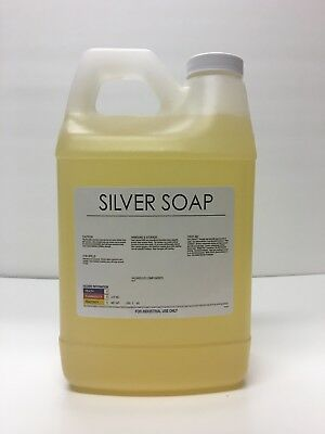 Burnishing Compound, liquid silver/stainless steel polishing debur soap 64 oz