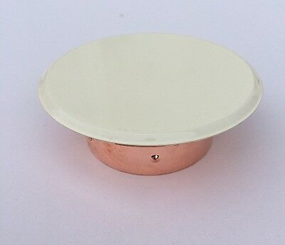 Victaulic Flat Cover Plate for V38 Fire Sprinklers in White - 135 Degree