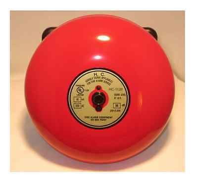 Fire Alarm Bell | 6 inch 120 volt | Includes Bell Back Box