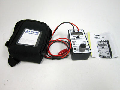 Altek 334A Loop Calibrator With Manual & Transport Case ~ Transcat 4353E