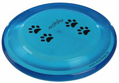 Trixie Dog Disc  Activity Agility Blu Con Zampe Dooging Diametro 23 Cm Germany
