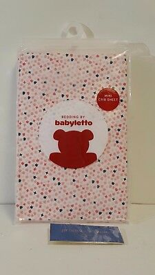 NEW! Babyletto In Bloom Fitted Mini Crib Sheet - T8035 FREE SHIPPING