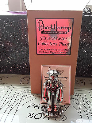 Robert Harrop Camberwick Green The Mayor Pewter Edition Cgmill04  Lim Edt Mib