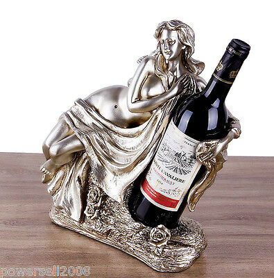 New European Decoration Gift Resin 1 Bottle Charming Woman Wine Rack Holder &$