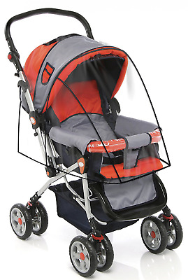 Stroller Cover for Rain Wind and Dirt - Keep Baby Dry and Clean When Going for a