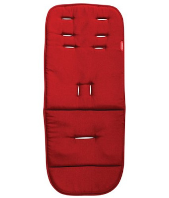 phil&teds Seat Liner for Promenade and Smart Lux Strollers, Chili