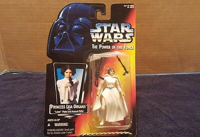 1995 Hasbro Star Wars Princess Leia Organa Power of the Force Red Card