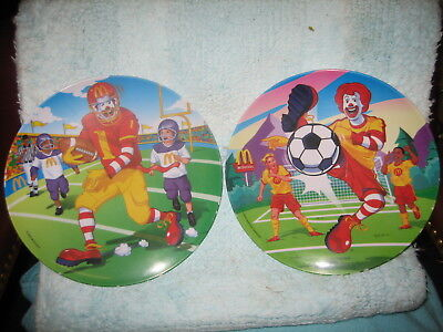 McDonalds Football & Soccer Collector's Plates