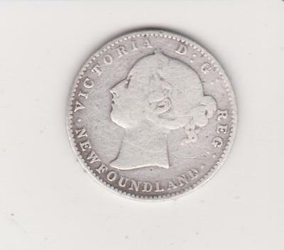 1896 Newfoundland Silver 10 Cent ~ Nice  Condition--VERY LO MINTAGE 230M