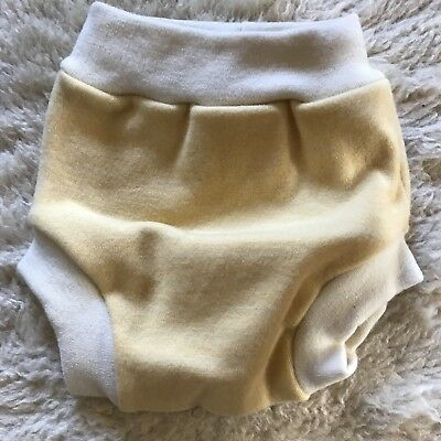 Loveybums Pull-up Wool Diaper Cover Large Yellow