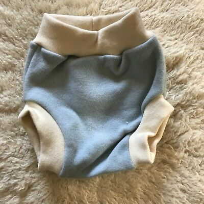 Loveybums Pull-up Wool Diaper Cover Large Blue
